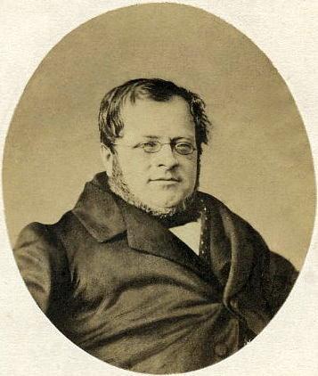 Ritratto fotografico di Cavour